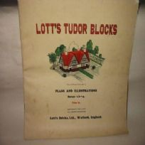 Lotts Tudor Blocks Plans and Illustrations